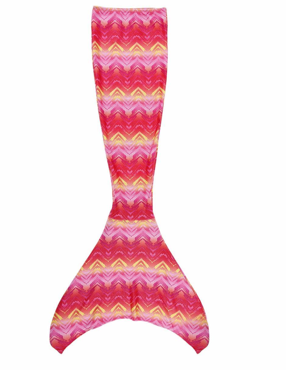 Traje de Baño Mermaids 123 Kit Cola de Sirena Pyramid para niña
